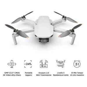 DJI Mini 2 Drone Camera 4K Garanzia Fowa