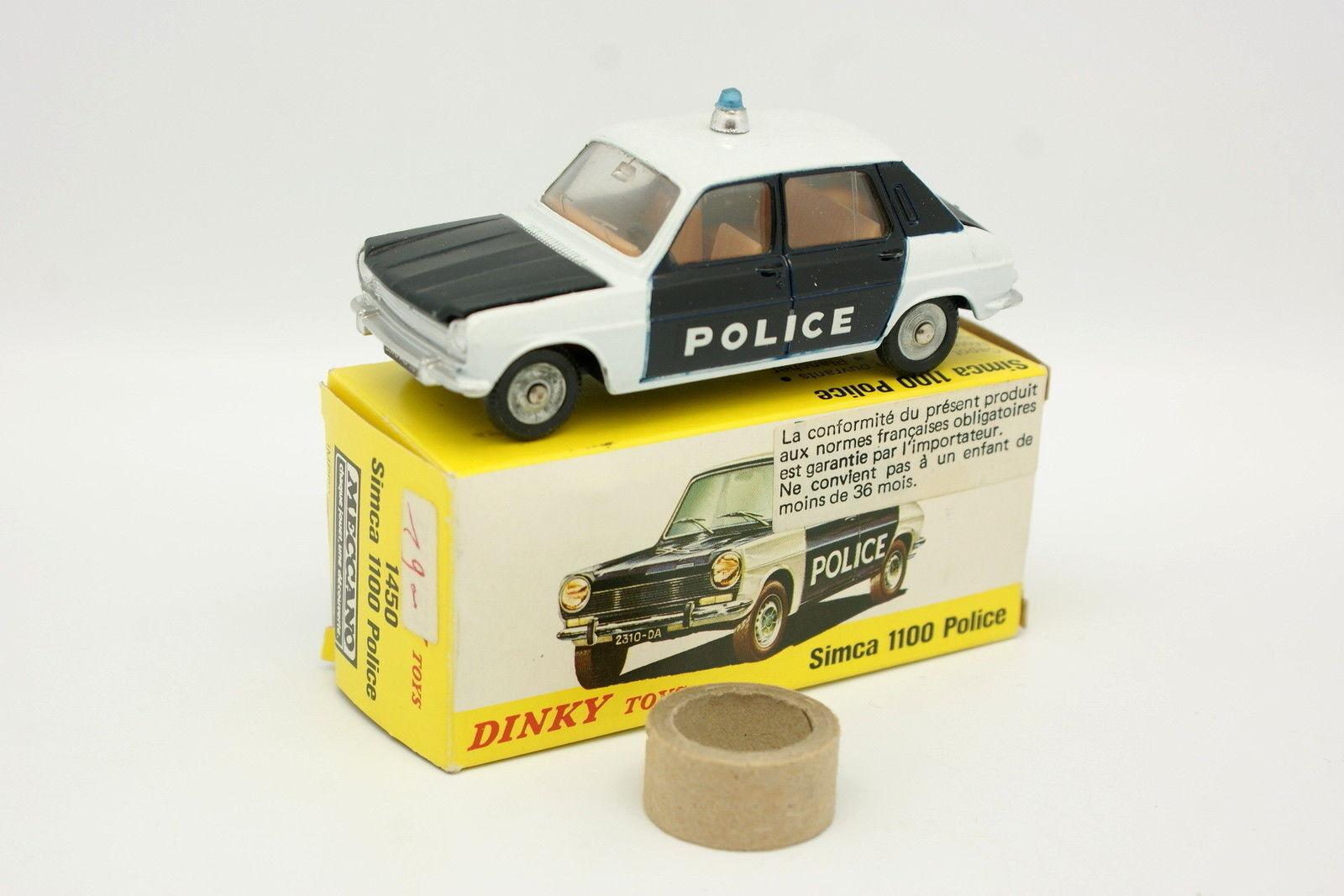 Dinky giocattoli Spain 1 43 - Simca 1100 Polizia 1450 Boite