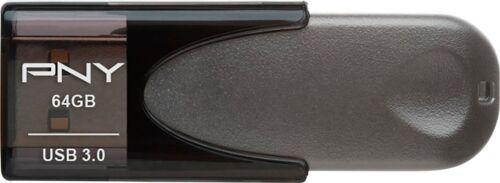 PNY TURBO ATTACHE 4 32GB 64GB 128GB 256GB USB 3.0 Flash Pen Drive Capless lot