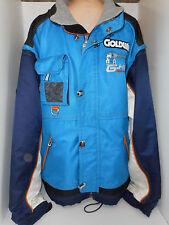 GOLDWIN Mens High Technical Sport Ski Snowboard Racing Jacket Coat Blue 2XX 2XL