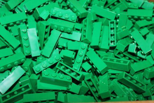 200 X Lego ® Brick//pierres 1x4 3010 en Vert//Green Neuf