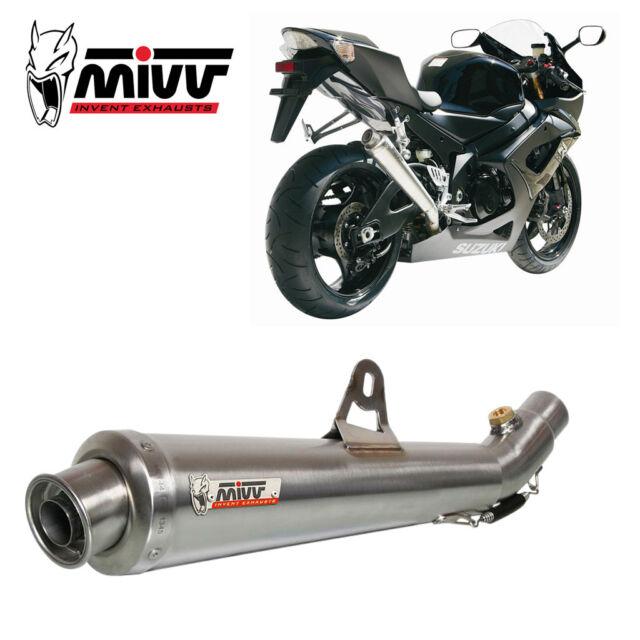 SUZUKI GSX-R 1000 Exhaust MIVV X-cone 2005-2006