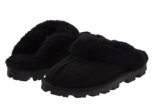 Aux Chaussures Cozy Ugg Châtaigne Sandales Pantoufles Coquette femmes Noir Rose Gris Doux f6by7g