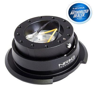 NRG Steering Wheel Quick Release Gen 2.8 BLACK DIAMOND CUT SRK-280BK
