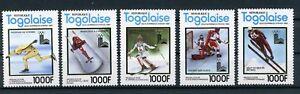 Togo MiNr. 1508-12 postfrisch MNH Olympia 1980 (Oly1240