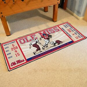 Ole-Miss-Rebels-30-034-X-72-034-Ticket-Runner-Area-Rug-Floor-Mat