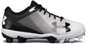 Baseball Cleats Shoes 1297316-011 Under Armour Boy/'s Kids UA Leadoff Low RM Jr