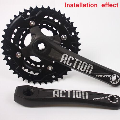 FMFXTR 3X10s 104//64bcd 24//32//42t Triple MTB Bike Crankset Crank set Chainring
