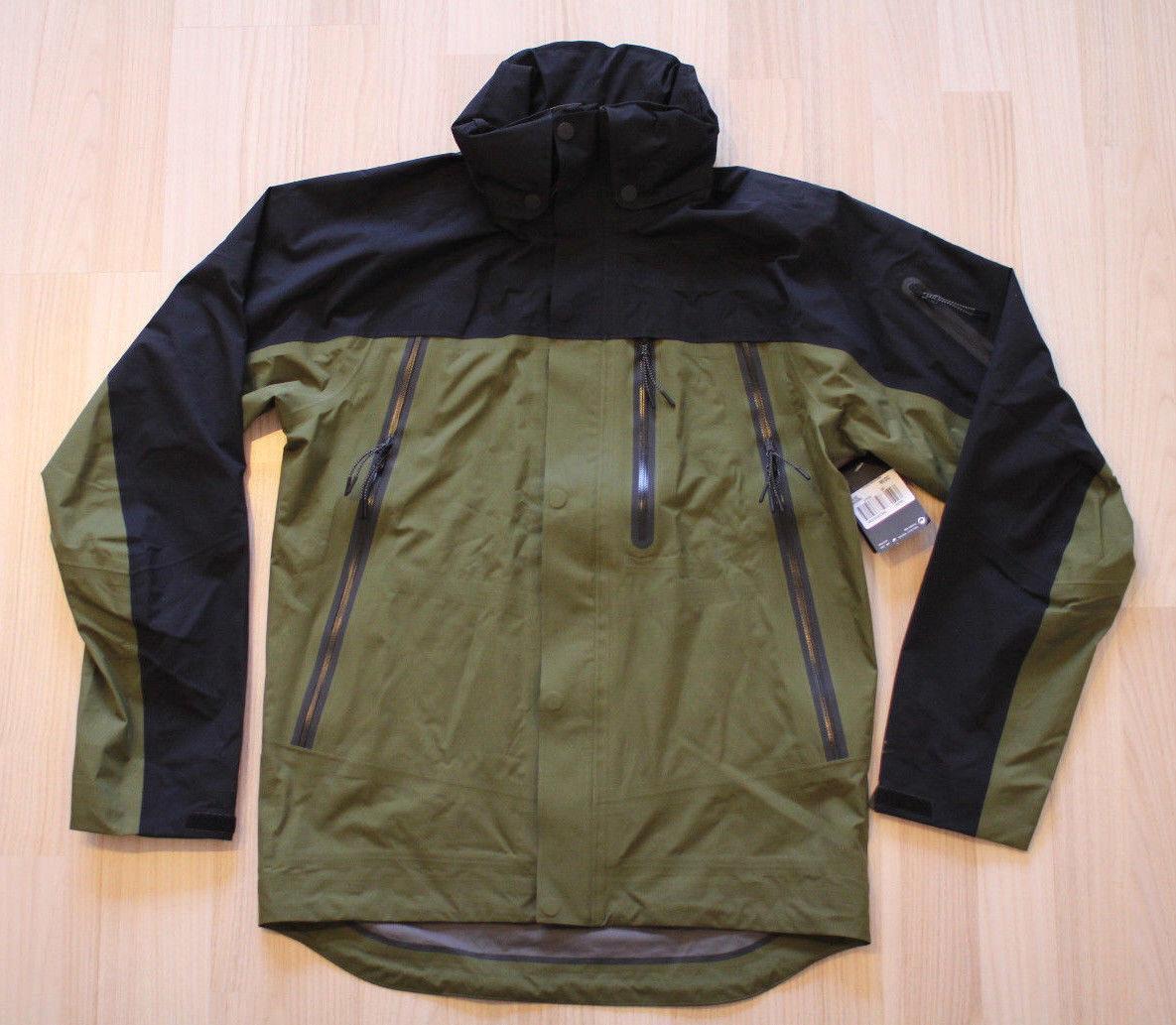 Nike blanco Label Gore-Tex outdoor chaqueta Olive negro talla s, m nuevo & OVP