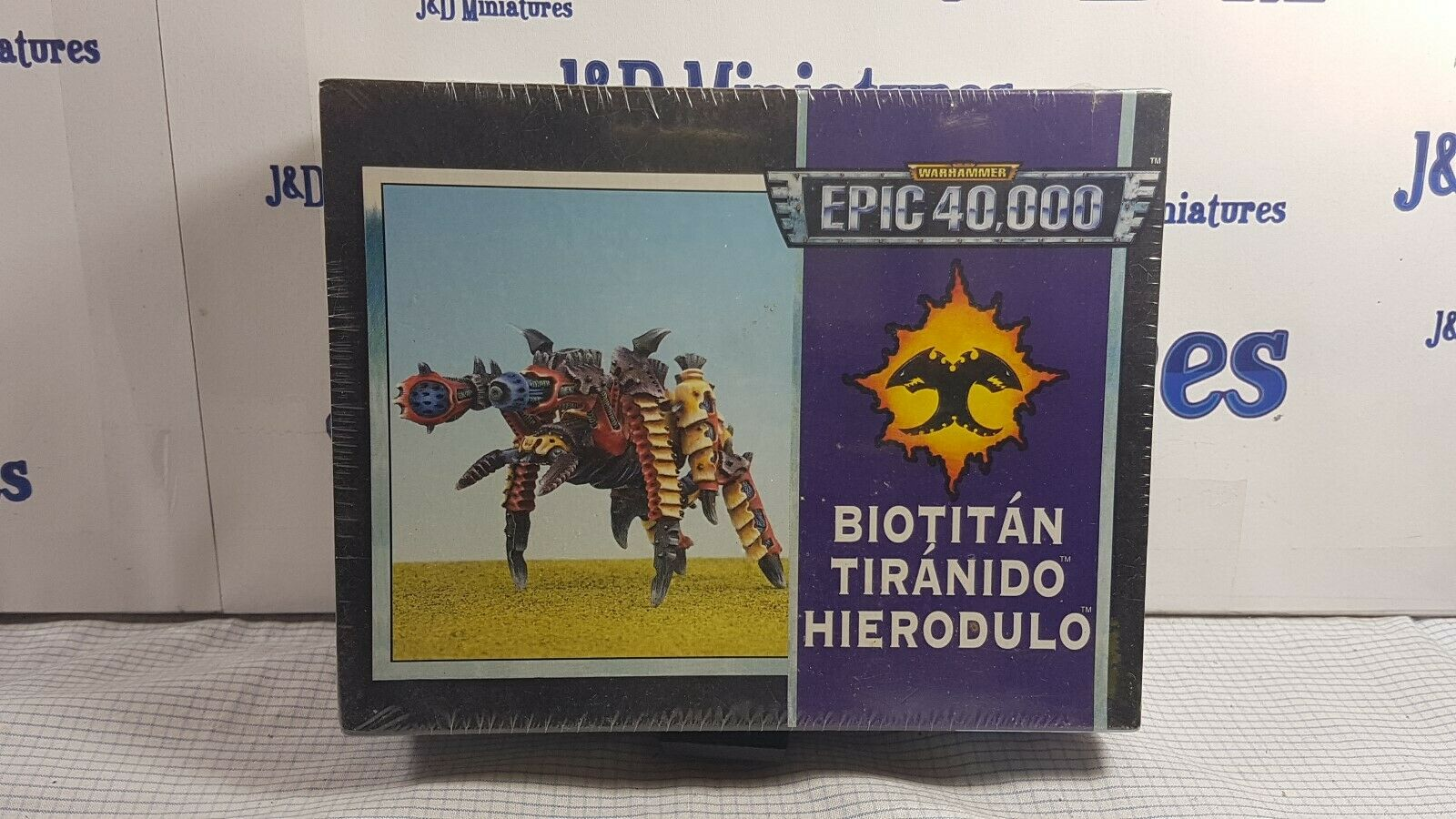 Games Workshop Citadel Epic Warhammer 40K Tyranid Hierodule Bio Titan Sealed OOP