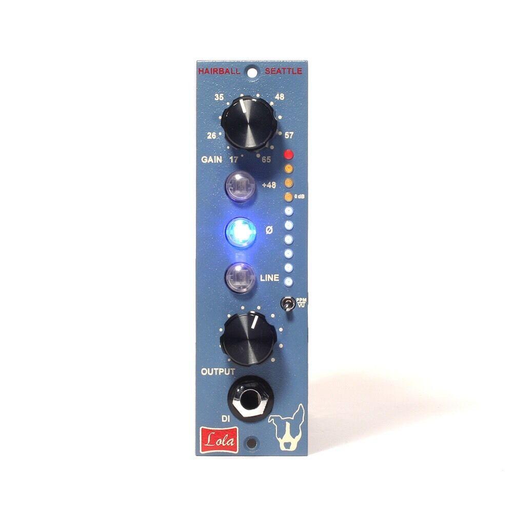 Hairball Audio Lola Mic Preamp - API 500 Series - 990 Opamps - 1073 Transformers