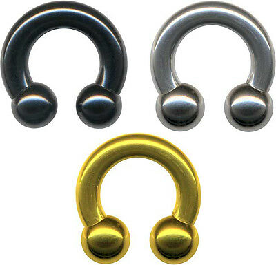 4 Stück Piercing Ringe 3//4//5// 6// 8mm Prinz Albert Intim Brustwarze Studio Ware