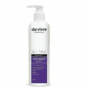 Vivre Satin Smooth Shampoo For Frizzy & Unruly Hair 500ml