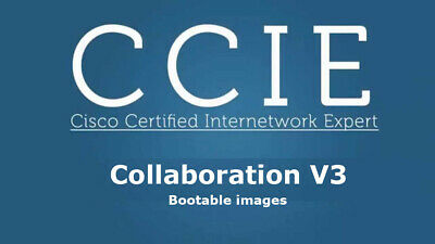 Cisco Collaboration v2 Voice Lab CCNA CCNP CCIE VMware images CUCM CUC CUPS v12