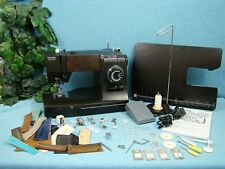 NEW Toyota Sewing Machine + EXTENSION TABLE WALKING FOOT Sews UPHOLSTERY LEATHER
