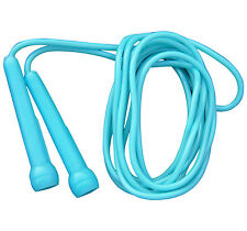 Plastic Skipping Rope PVC Speed Jump Rope Fitness Exercise Workout Jumping Blue