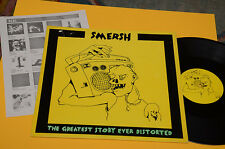 SMERSH LP GREATEST STORY EVER DISTORTED ORIG BELGIO 1988 EX