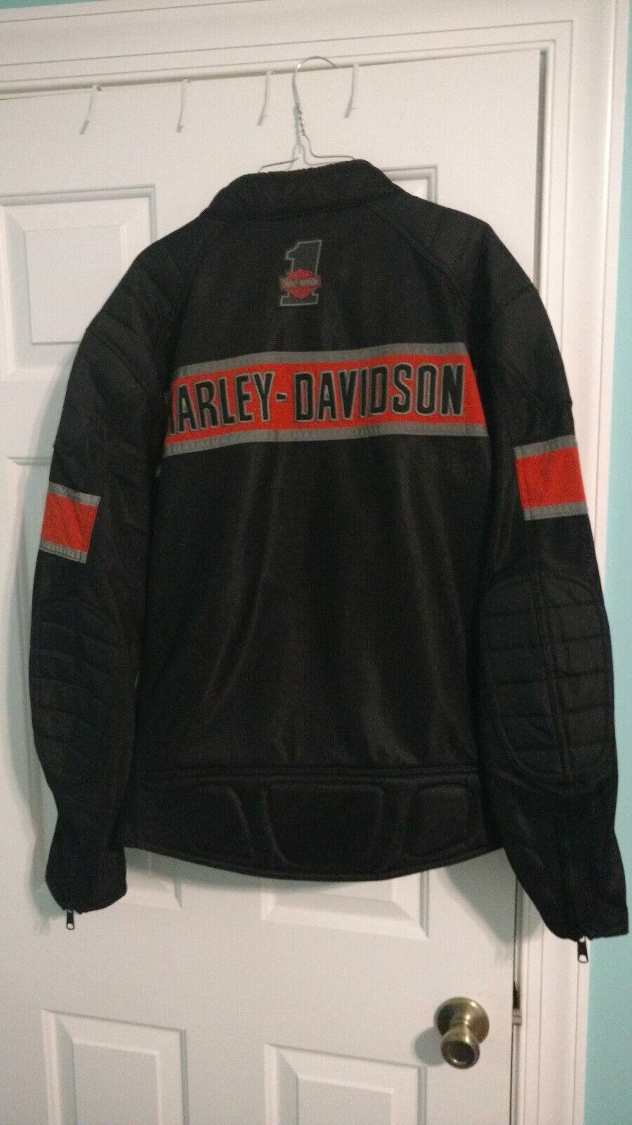 Harley Davidson Equitación jaket XL y tamaño 12 botas de montar