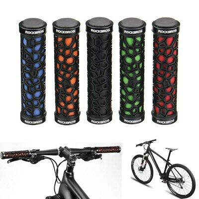 Outdoor Double Lock On Locking Handlebar Grips Bicycle MTB Mountain Bike BMX New