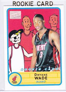 Dwyane Wade Rookie Card 2003 Topps Bazooka Rookie Card