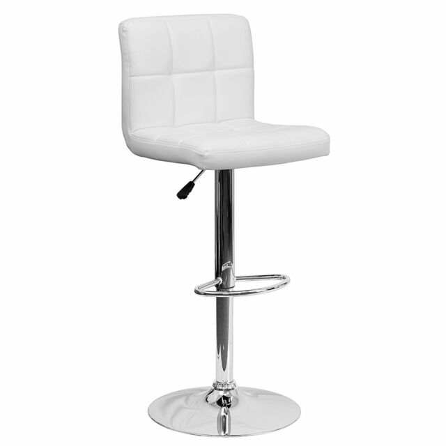Swell Vanity Stool Seat Quilted Dressing Desk Chair Bedroom Furniture Swivel White New Andrewgaddart Wooden Chair Designs For Living Room Andrewgaddartcom