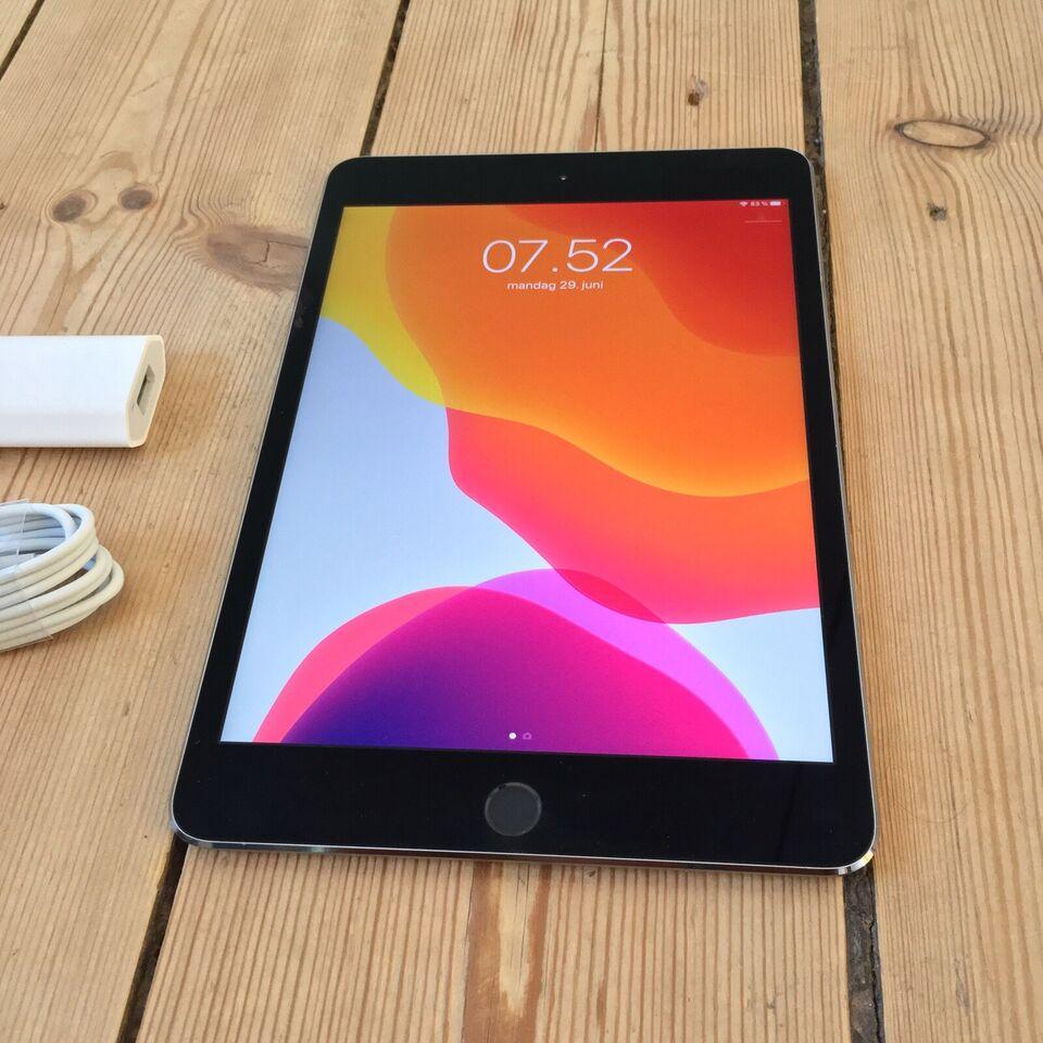 iPad mini 4, 64 GB, sort