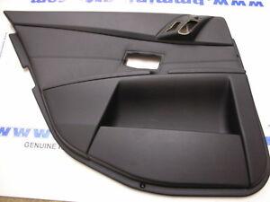 BMW-E60-E61-LCi-REAR-RIGHT-LEATHER-DOOR-CARD-BLACK-51427078604