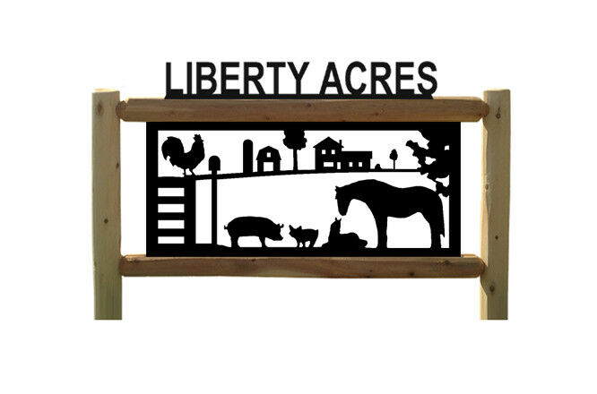 PERSONALIZED FARM SIGNS - HORSE