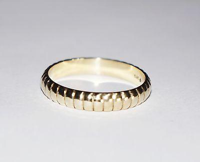 585 Gold Ring Gelbgold Ehering Freundschaftsring Trauring Top Zustand SpäTester Style-Online-Verkauf Von 2019 50%