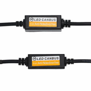 2x-H7-Car-LED-Load-Resistor-CAN-Bus-CANBus-Decoder-Error-Free-Canceller-Adapter