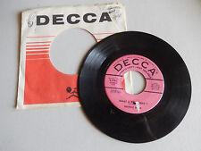 GEORGIE SHAW JACK PLEIS run run run /what a fool was i DECCA SAMPLE    45