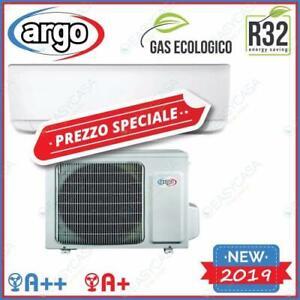 ARGO CONDIZIONATORE ECOLIGHT 12000 BTU INVERTER GAS R32 A++/A+ PR. WIFI