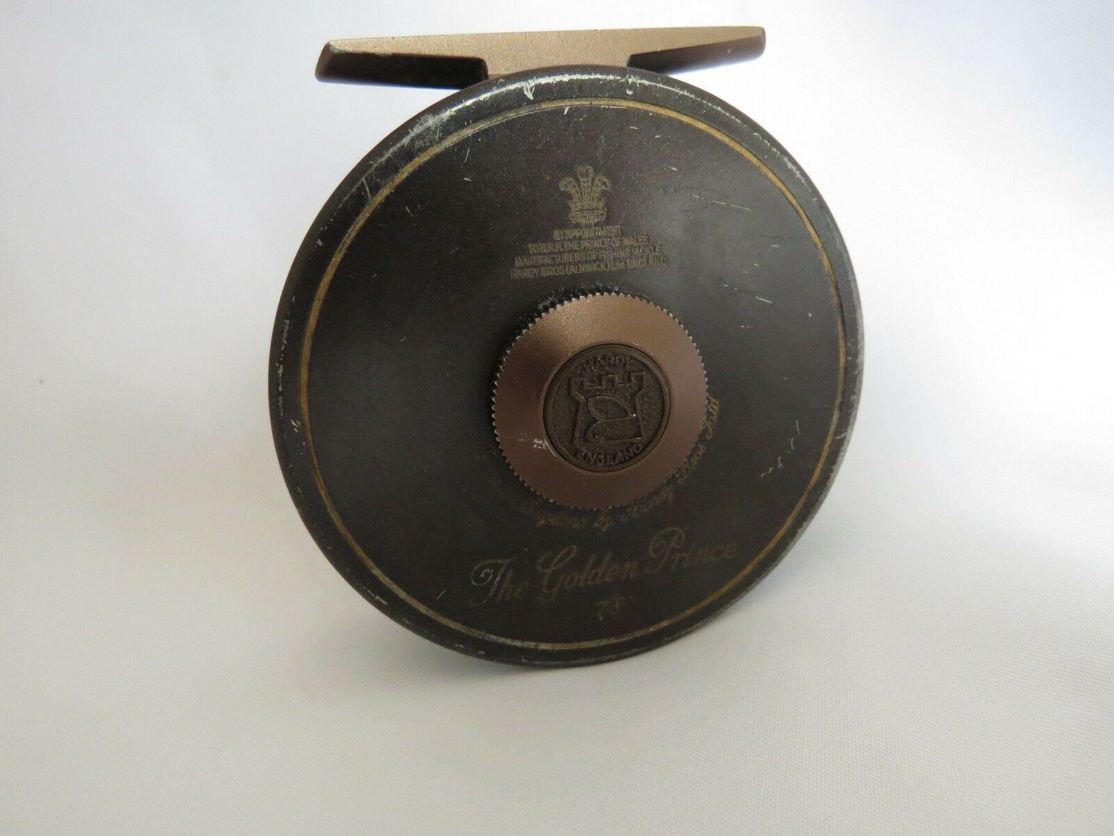 House of HARDY Golden Prince 7/8 Fly Reel made in ENGLAND