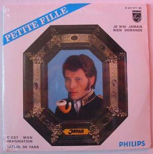 JOHNNY-HALLYDAY-PETITE-FILLE-CD-Single-NEUF-SCELLE