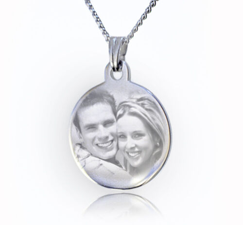 Valentine/'s day gift ❤ Photo Pendant Necklace personalised with image /& text