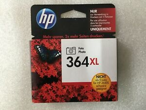 original-HP-364XL-Photo-Foto-CB322EE-Tintenpatrone-Tinte-Rechnung-mit-MwSt