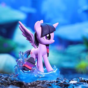 POP MART My Little Pony Natural Ocean Wave Twilight Sparkle Mini Figure Toy Gift