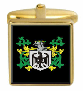 Pennock Schottland Familie Wappen Familienname Gold Manschettenknöpfe Graviert Ausreichende Versorgung