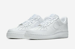 NIKE-AIR-FORCE-1-039-07-TRIPLE-WHITE-315115-112-Women-039-s-size-5-12-BRAND-NEW-IN-BOX