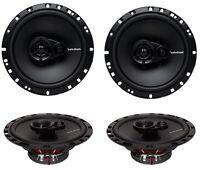4) Rockford Fosgate R165x3 6.5 180w 3 Way Car Audio Coaxial Speakers Stereo