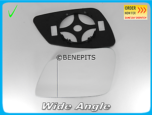 BP Wing Mirror Glass For BMW F10 F11 2010-2016  Wide Angle TAPE Left //B030