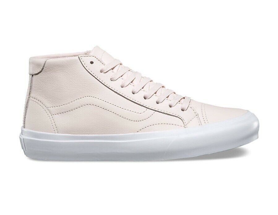 Vans Court Mid DX Women's Size 7 Leather Delicacy Pale Pink OTW Rare