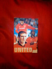 MANCHESTER UNITED FOOTBALL CLUB  PHOTO CARD 1995 GIGGS CANTONA UMBRO VGC 6 x 4