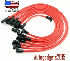 10MM High Performance Spark Plug Wires For HEI SBC BBC 350 383 454 Electronic