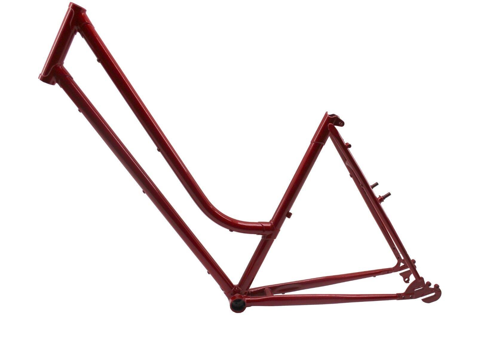 Stahl Fahrradrahmen Nostalgie  28 , RH 49cm, Naben  Ketteschaltung, BSA Lagermaß