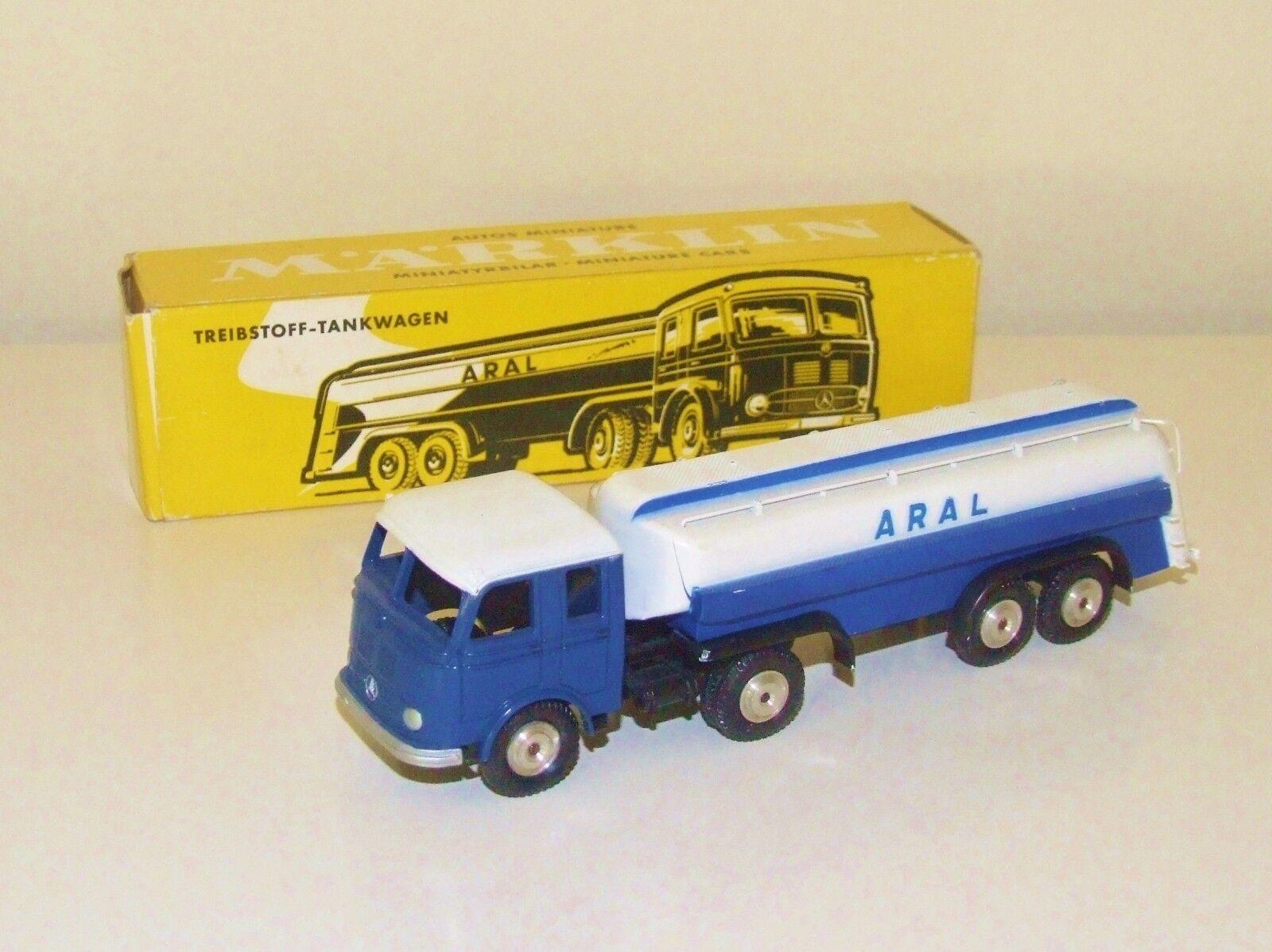 Marklin 8032 Mercedes Aral petrolero-triebstoff Tankwagen-Excelente mejor en