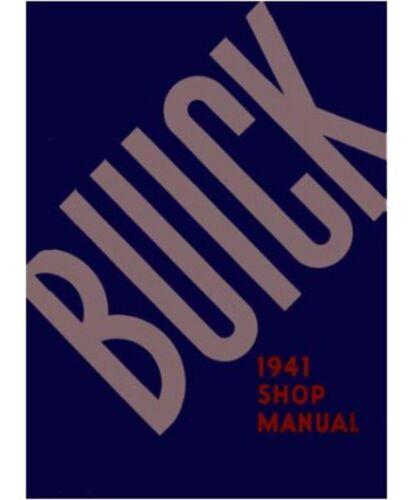 1941 Buick Service Shop Repair Manual Book Engine Drivetrain Wiring OEM Guide