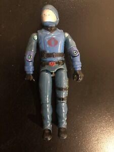 VTG 1982 83 Hasbro / ARAH GI Joe V1 Cobra Commander - swivel arm