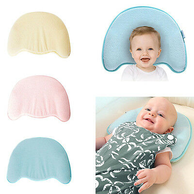New Baby Pillow Memory Foam Infant Prevent Flat Head Cushion Sleep Neck Support