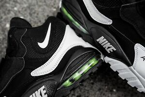 69d8bbe8a6 Nike Air Max Speed Turf Black White Voltage Green Yellow 525225-011 ...